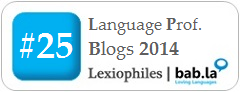Top 25 Language Language Professional Blogs 2014