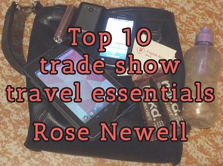 Top ten trade show travel essentials for translators